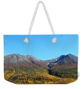 Fall Mountains Weekender Tote Bag