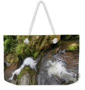 Fall Of Water Weekender Tote Bag