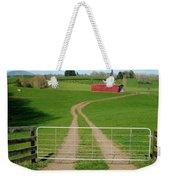 Farming Scene Weekender Tote Bag