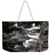 Fast Moving Firehole River Weekender Tote Bag
