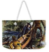 Father Jacques Marquette Weekender Tote Bag by Granger