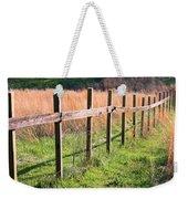 Fence Perspective Weekender Tote Bag