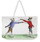 Fencing, 18th Century Weekender Tote Bag