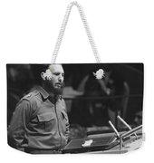 Fidel Castro (1926-) Weekender Tote Bag