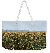 Fields Of Safflowers Weekender Tote Bag