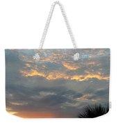 Fiery Sky Weekender Tote Bag