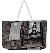Fire Escape  Weekender Tote Bag