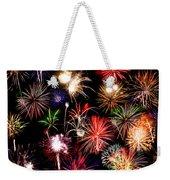 Fireworks Medley Weekender Tote Bag