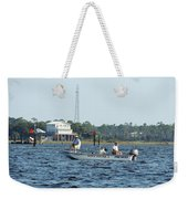 Fishing The Flats Weekender Tote Bag