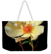 Five Petal Rose Weekender Tote Bag
