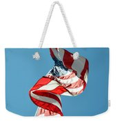 Flagged Weekender Tote Bag