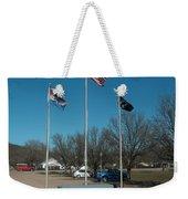 Flags With Blue Sky Weekender Tote Bag