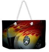 Flaming Beauty Weekender Tote Bag