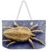 Flat Mite Weekender Tote Bag
