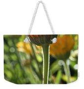 Floral Torch Weekender Tote Bag