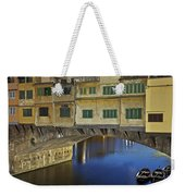 Florence - Ponte Vecchio Weekender Tote Bag
