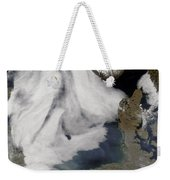 Fog In The North Sea Weekender Tote Bag