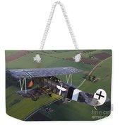 Fokker D.vii World War I Replica Weekender Tote Bag