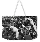Football Game, 1965 Weekender Tote Bag