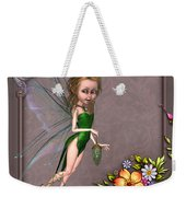 Forest Fairy In The Garden Weekender Tote Bag