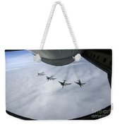 Formation Of Luftwaffe F-4f Phantom IIs Weekender Tote Bag