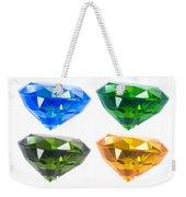 Four Diamond Weekender Tote Bag