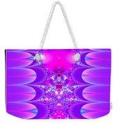 Fractal 16 Purple Passion Weekender Tote Bag