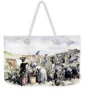 France: Grape Harvest, 1854 Weekender Tote Bag by Granger