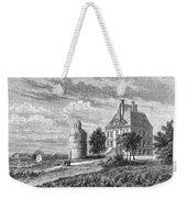 France: Wine Ch�teau, 1868 Weekender Tote Bag
