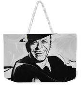 Frank In Black And White Weekender Tote Bag