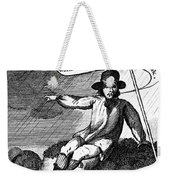 Franklin: Way To Wealth Weekender Tote Bag by Granger