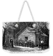 Freedmen School, 1868 Weekender Tote Bag by Granger