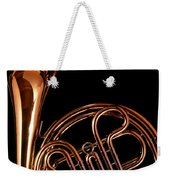 French Horn With Sparks Weekender Tote Bag