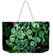 Fresh Chives Weekender Tote Bag by Susan Herber