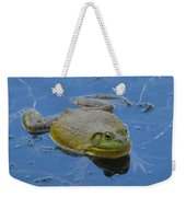 Frog In Pond Weekender Tote Bag