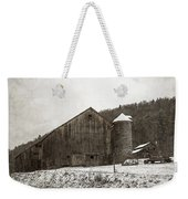 Frozen In Time  Weekender Tote Bag by John Stephens