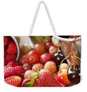 Fruits And Berries Weekender Tote Bag by Elena Elisseeva