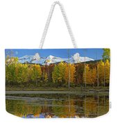 Full Moon Over East Beckwith Mountain Weekender Tote Bag