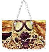 Gas Mask Weekender Tote Bag