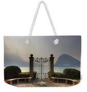 Gateway To The Lake Of Lugano Weekender Tote Bag