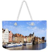 Gdansk Old Town In Poland Weekender Tote Bag