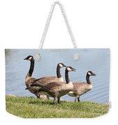 Geese Weekender Tote Bag