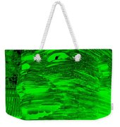 Gentle Giant In Negative Green Weekender Tote Bag
