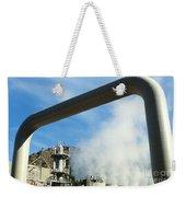 Geothermal Power Plant Weekender Tote Bag by Science Source