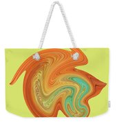 Gerbera Abstract Weekender Tote Bag