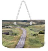Ghost Town Galilee Saskatchewan Weekender Tote Bag