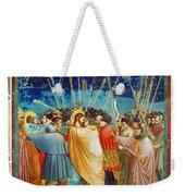 Giotto: Betrayal Of Christ Weekender Tote Bag