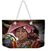 Girl Of Almolonga Weekender Tote Bag