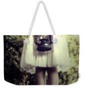 Girl With Oil Lamp Weekender Tote Bag by Joana Kruse