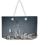 Glass Weekender Tote Bag by Nailia Schwarz